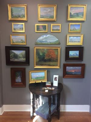 Arden's gallery exhibit