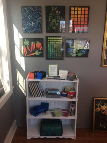 Elisabeth's gallery exhibit